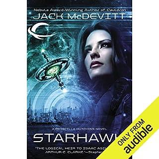 Starhawk audiobook cover art