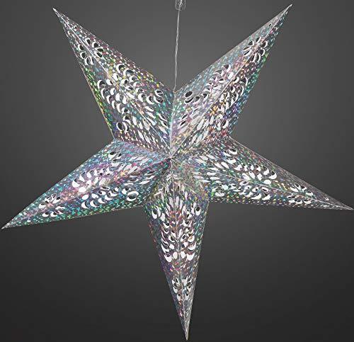 Hellum 567014 LED-Innen-Beleuchtung, Acryl, transparent, 60 x 60 cm