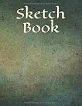 Sketch Book: Amazing Trendy Blank Large Sketch Pad, Sketch, Draw and Paint. Large Notebook for Drawing, Doodling or Sketching: 110 Pages, 8.5