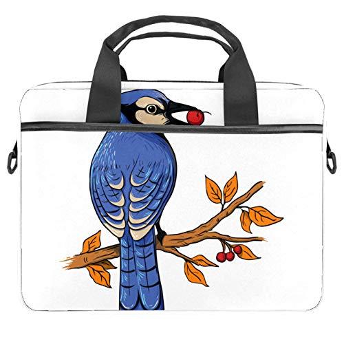 Lurnies Zweig Vogelfutter Laptoptasche Einzigartig gedruckt Kompatibel mit 13-13,3 Zoll MacBook Pro, MacBook Air® Notebook 28x36.8x3 cm