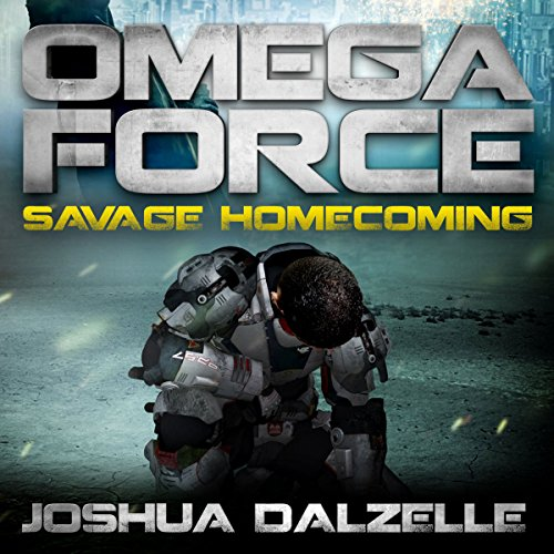 Savage Homecoming audiobook cover art