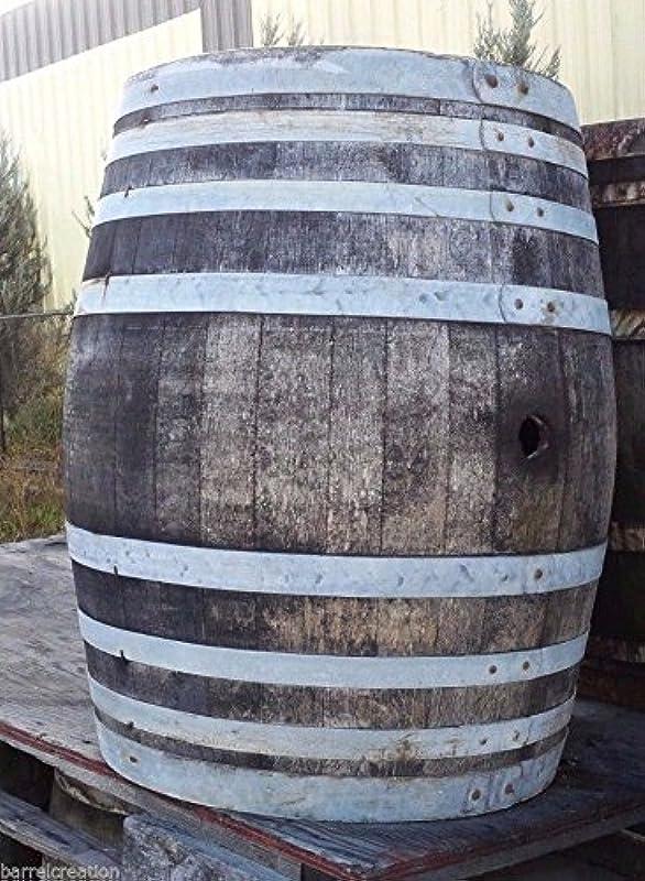 Wine Barrel Creations Rustic Wine Barrel Solid Oak Lowest Price On Amazon By