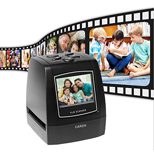 Best Review Of CARSN 35mm Slide Viewer Projector,36 LCD Screen High Resolution Photo Negatives & Sl...