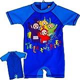 alles-meine.de GmbH Badeanzug / Einteiler - UV Schutz & UPF 50+ - Teletubbies - Größe 6 bis 9 Monate - Gr. 68 bis 74 - Sonnenschutz - für Jungen Mädchen - Kinder - Baby - Kleinki..