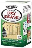 Rust-Oleum Dry Erase Clear One Step Paint 16 oz.