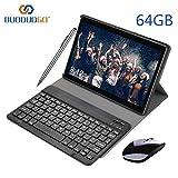 Tablette Tactile 10 Pouces WiFi 3GO RAM 64GO ROM (128 Go Extensible) DUODUOGO Tablette Android 8.1 avec Netflix Stylet OTG 8MP...