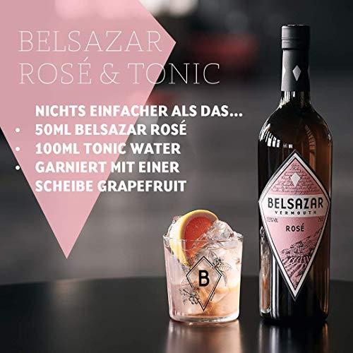 Belsazar Rose Vermouth, Rosé Wermut aus dem Schwarzwald, Aperitif (1 x 0,75 l) - 4