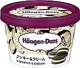 [冷凍] ハーゲンダッツジャパン ミニカップ クッキー&クリーム 110ml