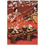 ピンナップ ポストカード 10+1枚 KM51 水野克比古 京都 雛祭り 雛料理