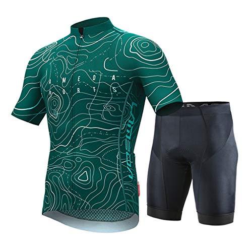 Maillot Ciclismo Los jerseys de ciclo hombres que completan fijaron el equipo...
