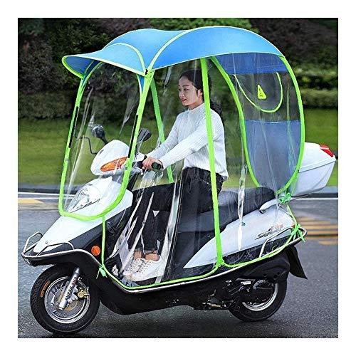 Nologo Mobility Scooter Cape Universal Car Motorroller Regenschirm Mobilität Sonnenschutz Regen-Abdeckung wasserdichte Batterie-Auto Canopy Regenschirm-Abdeckung (Farbe : A)