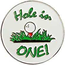 Navika Hole in One Golf Ball Marker with Magnetic Hat Clip