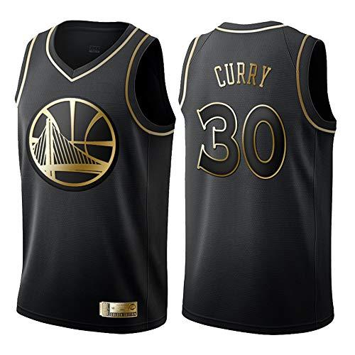Basketball T-Shirt Golden State Warriors 30# Curry Trikots, Herren Frau Basketball Uniform Klassisches Stickerei Jerseys Top