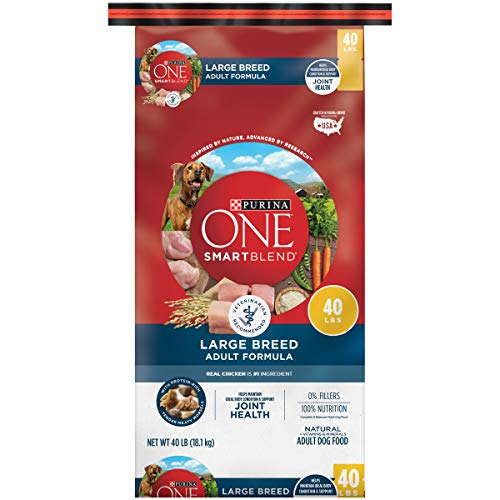 Purina ONE Natural Large Breed Adult Dry Dog Food, SmartBlend Formula - 40 lb. Bag