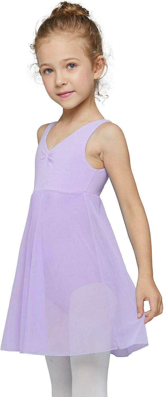 MdnMd Long Skirt Houston Mall Ballet Dance Balleri Girls for Max 81% OFF Leotards Toddler