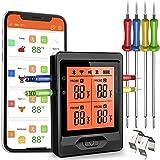 Termometro Digital cocina barbacoa inalámbrico 328 pies Bluetooth...