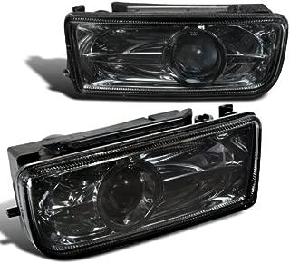Spec-D Tuning LFP-E3692G Bmw E36 3 Series 325I 328I 330I, Smoked Lens Projector Fog Lights Lamps
