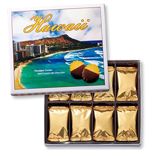 ハワイ 土産 ハワイ パイナップルチョコレートクッキー 1箱 (海外旅行 ハワイ お土産)