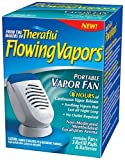 Theraflu Flowing Vapors Menthol Vapor Fan Portable Humidifier + 3 Refills & Battery