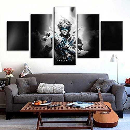 5 lol spel canvas gedrukt spel poster kunst aan de muur schilderij foto woondecoratie kunstwerk Cuadros