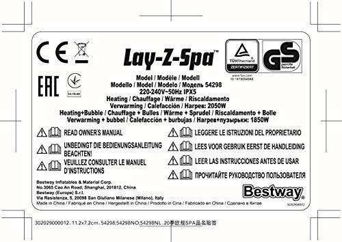 Bestway Lay-Z-Spa Helsinki AirJet - 30