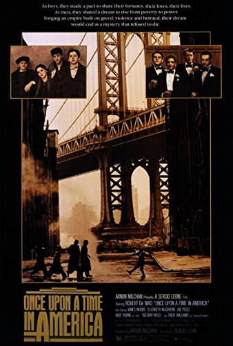 Once Upon a Time in America Movie Poster (68,58 x 101,60 cm)