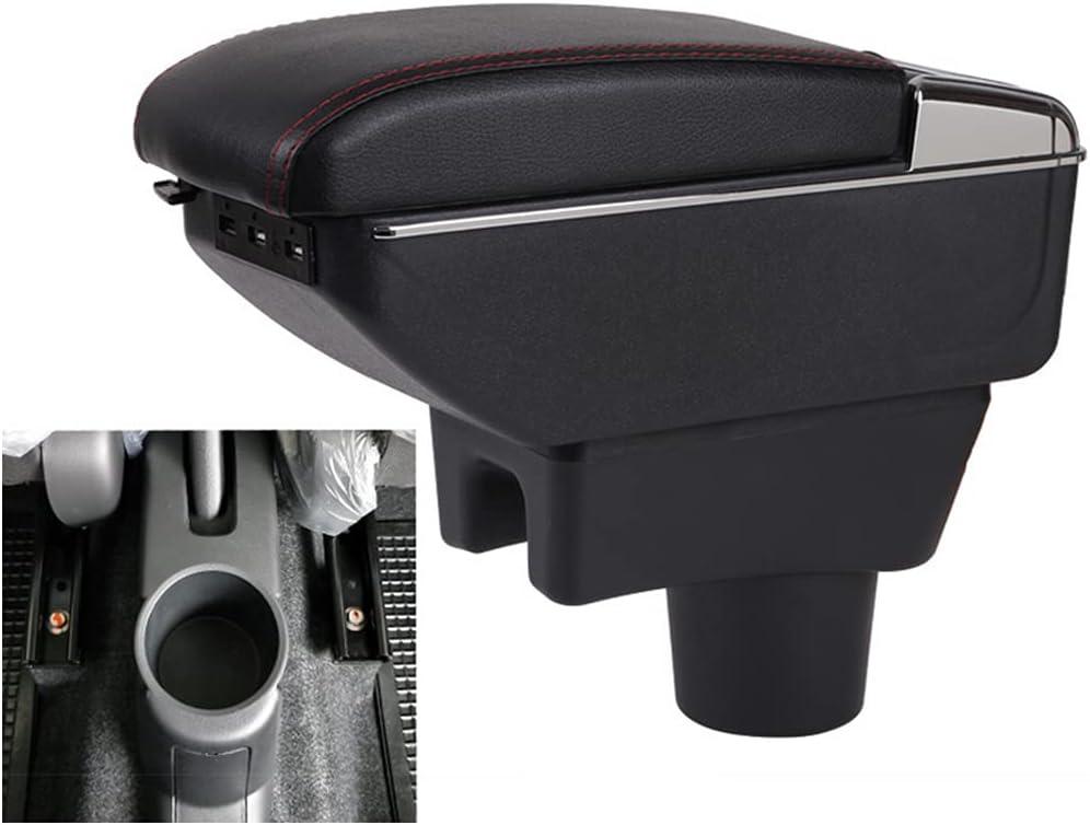 HzvtCtarmsu Armrest Storage sale Box for Console Center Car Department store Santana A