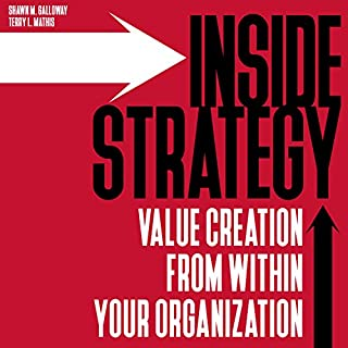 Inside Strategy     Value Creation from Within Your Organization              By:                                                                                                                                 Shawn M. Galloway,                                                                                        Terry L. Mathis                               Narrated by:                                                                                                                                 Charles Braden                      Length: 4 hrs and 36 mins     1 rating     Overall 5.0