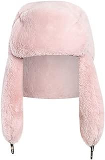 XGao Plush Hat, Winter Hats for Women, Earmuffs and Faux Fur Cap Ladies Winter Hat Plush Fake Thick Ear Protectors Warm