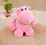 NC165 Super Doux et Confortable en Peluche Mignon poupée Hippopotame Souvenir de Vacances Unique Meilleur Cadeau pour garçon et Fille Anniversaire 30 cm