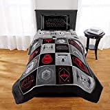 Jay Franco & Sons Star Wars Ep 8 Grafix Comforter, Sham & Sheet Set - 5-pc Twin Size Set
