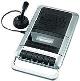 Best Cassette Recorder Players - Sylvania SRC124 Cassette Player/Recorder with Microphone, Headphone Jack Review