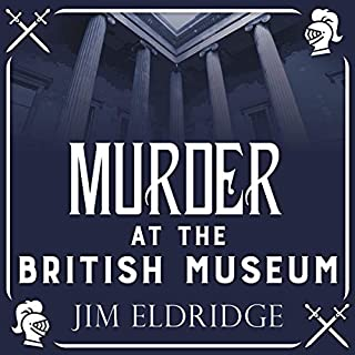 Murder at the British Museum audiobook cover art