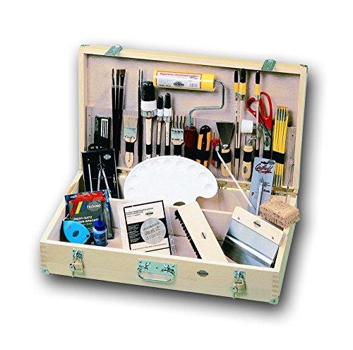 Maler-Werkzeugkoffer AUSBILDUNG Friess 65cm x 37cm x 18cm, komplett bestückt für...