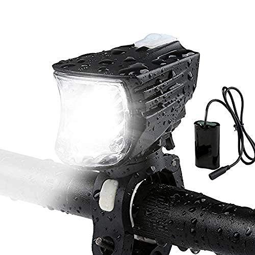 Fahrradbeleuchtung Fahrradbeleuchtung L2 Night Ride 1000 Lumen-Taschenlampe-Kopf-Lampe mit starkem Licht Wasserdichtes Mountain Bike Zubehör Wiederaufladbare DOISLL