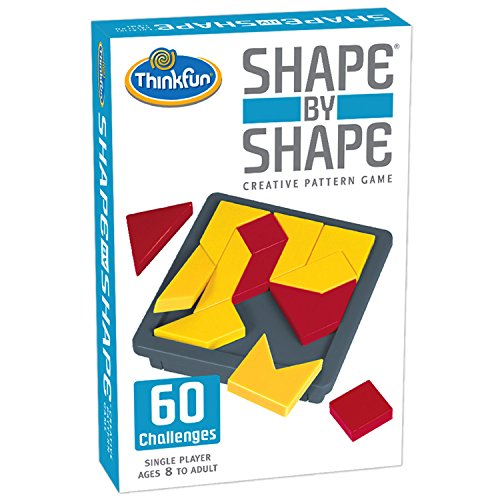 ThinkFun Shape by Shape Creative Pattern Logic Game For Age 8 to Adult  Learn Logical Reasoning Skills Through Fun Gameplay