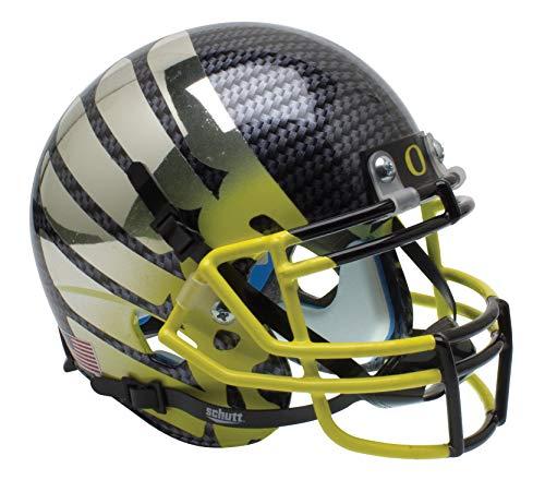 Schutt NCAA Oregon Ducks Mini Authentic XP Football Helmet, Yellow Fade Alt. 11