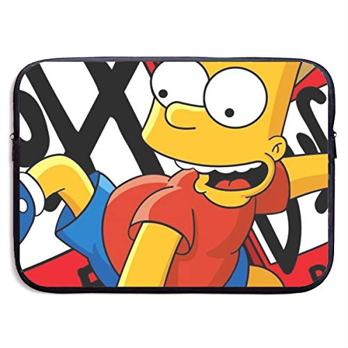 Cartoon Simpsons Laptop Sleeve Bag Tablet Fashion Briefcase Ultra Portable Protective Cover, MacBook Air, MacBook Pro, Notebook Computer Sleeve Case 13 Inch