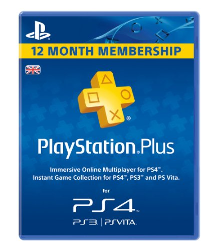 Sony PlayStation Plus PSN 365 Day Membership PS3 PS4 Vita