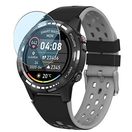 Vaxson 3 Stück Anti Blaulicht Schutzfolie, kompatibel mit Naturehike M7 M7C Smartwatch smart watch, Displayschutzfolie Anti Blue Light [nicht Panzerglas]