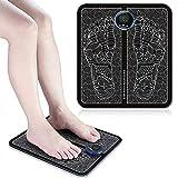 EMS Foot Massager Almohadilla eléctrica para masaje de pies,Masajeador de pies para remodelación de piernas EMS,Promover La Circulación de Sangre Del Músculo Alivio Del Dolor