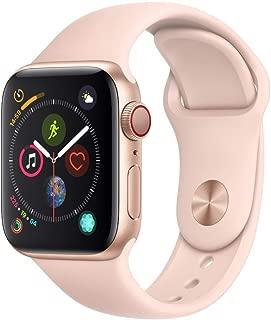 Apple Watch Series 4 (GPS + Cellular) (Renewed) (Pink Sport, 40mm)