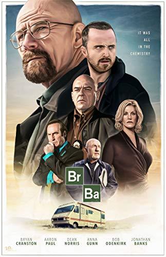 Breaking Bad Poster, 100 x 70 cm