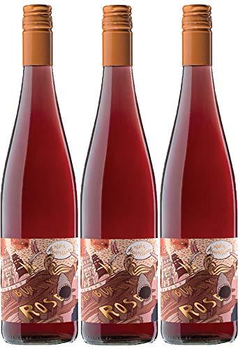 HURLYBURLY ROSÈ - Weinschwestern - trocken - 3er Paket