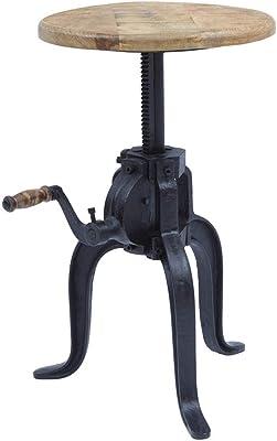 """Adjustable Table Legs Black//Chrome  22/""""-29/'/' 160-C3 Set of 4"""