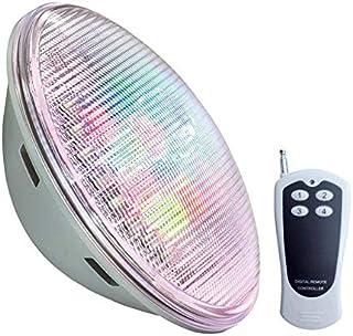 Lámpara LED PAR56 RGB para piscinas, G53, 45W, Acero inox.ext, RGB