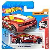 Hot Wheels Cliente '11 Camaro (Rojo - Fuego) 2/10 HW Rescue 2020 - 239/250 (tarjeta corta) GHC53