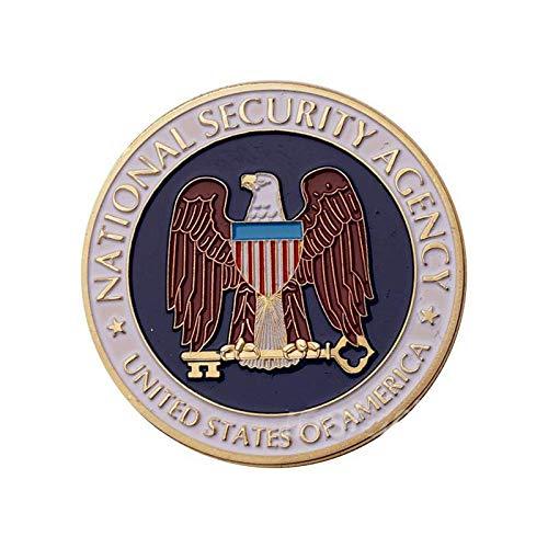 Sicherheitsbüro,Usa,Weißes Haus,Militär,Gedenkmünze,Ehre,Medaille,Hohe Qualität,Münze,2St Sammlung/A / 2 Stück