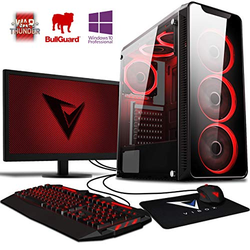 Vibox Kaleidos SA4-102 Gaming PC Ordenador de sobremesa con 2 Juegos Gratis, Windows 10 Pro OS, 22