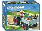 PLAYMOBIL 4497 - Granjera con Tractor